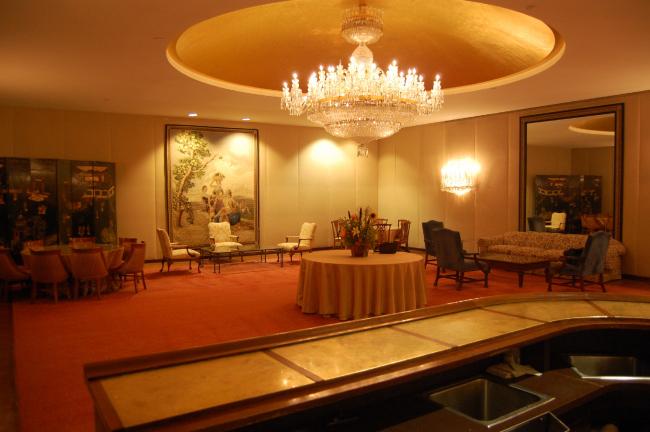 Golden Circle Lounge Кеннеди-центра до превращения в Русскую гостиную. Предоставлено Сергеем Скуратовым