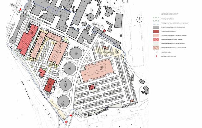 Арма: корпус 6. Ситуационный план © Сергей Киселев и Партнеры