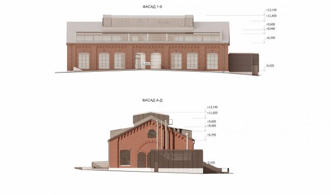 Арма: корпус 6. Фасады © Сергей Киселев и Партнеры