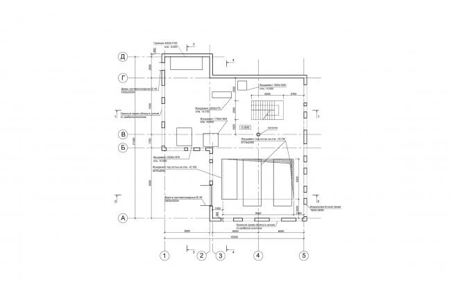 Арма: корпус 7 (котельная). План 1 этажа © Сергей Киселев и Партнеры