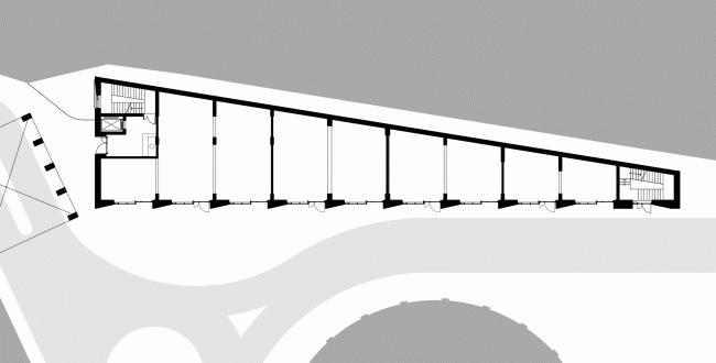 Арма: корпус 13. План 1 этажа © Сергей Киселев и Партнеры