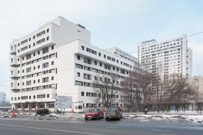 Комплекс «Парк Плейс» на Ленинском проспекте. Постройка, 1992 © Денис Есаков