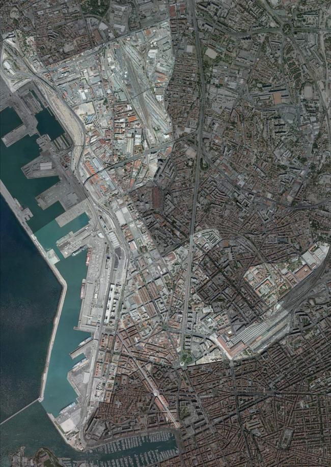 Территория Euroméditerranée. © EPA Euroméditerranée