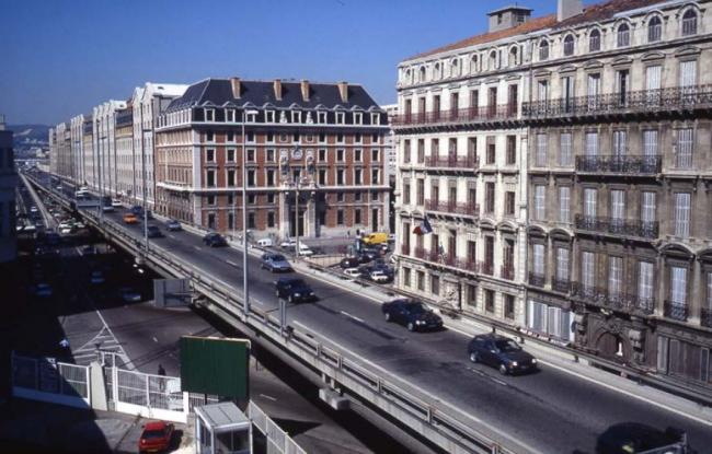А55 в 1970-е годы. © EPA Euroméditerranée