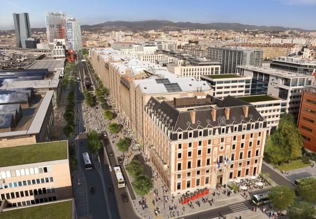 Бульвар Littoral на месте А55. © EPA Euroméditerranée
