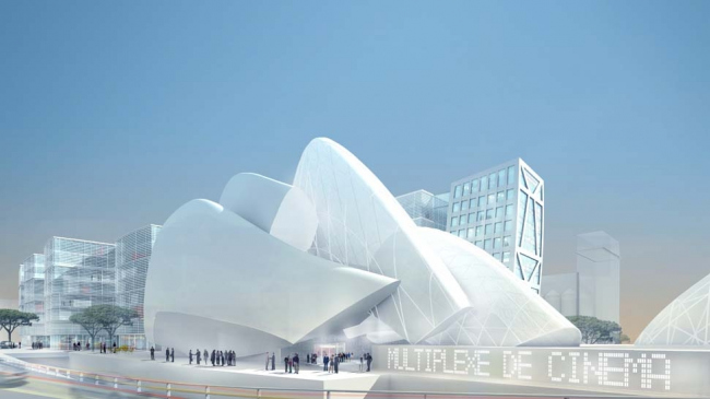 Euromed Centre. Арх. Массимилиано Фуксас. © Massimiliano Fuksas