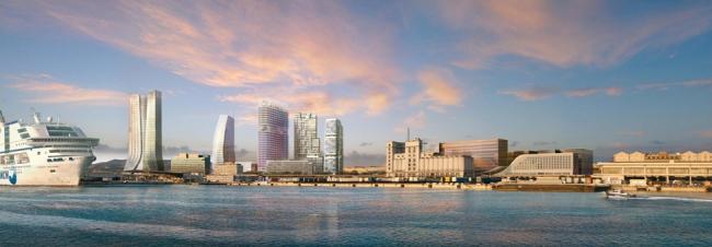 Новый морской фасад Марселя. © Constructa