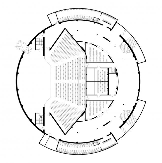 Концертный зал в Паланге © Uostamiescio projektas
