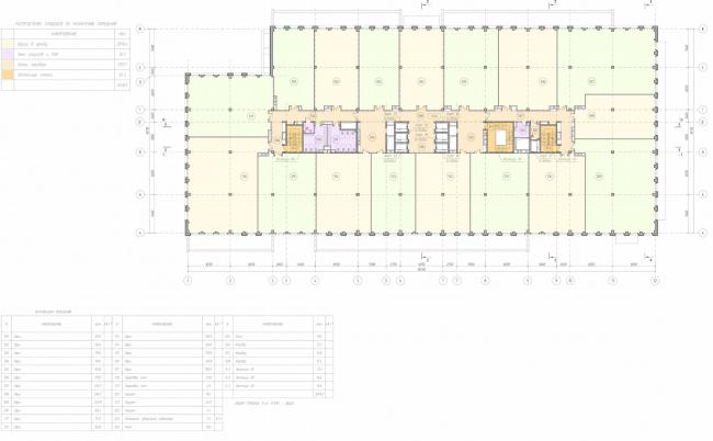 Арма: корпус 19. План 5 этажа © Сергей Киселев и Партнеры