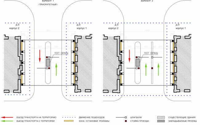 Арма: главный въезд. План © Сергей Киселев и Партнеры