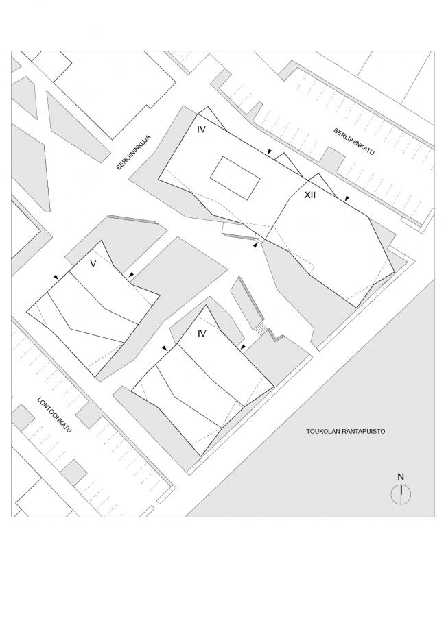 Жилой комплекс Berliininpiha © JKMM
