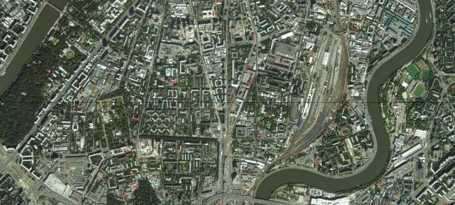 2015 год. Современная спутниковая съемка Яндекса. Источник: maps.yandex.ru