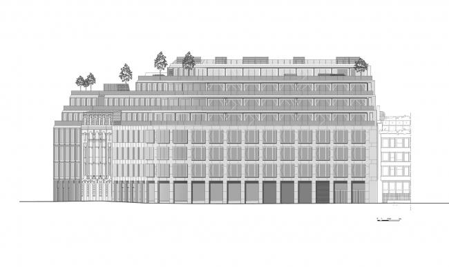 Офисный комплекс #CLOUD.PARIS © PCA / Philippe Chiambaretta Architecte
