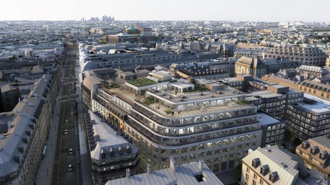 Офисный комплекс #CLOUD.PARIS © PCA / L′autre Image
