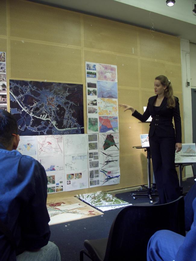 Анна Болдина. Одна из презентаций проекта в Западном Лондоне.
