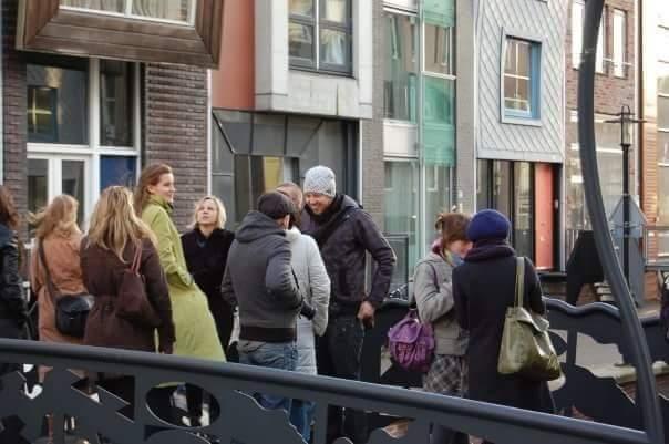 Анна Болдина. Фото студенческой поездки в Амстердам.