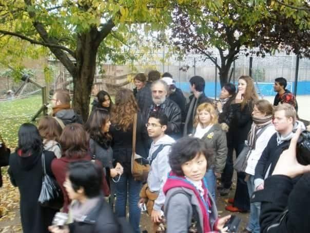 Анна Болдина. Фото экскурсии по Лондону над спрятанной в коллектор рекой.