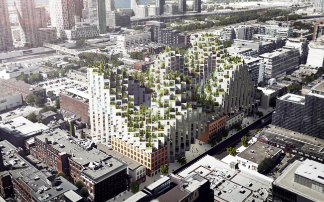 Жилой комплекс King Street West © BIG – Bjarke Ingels Group