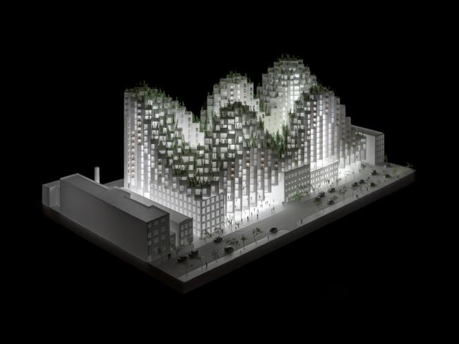Жилой комплекс King Street West © BIG – Bjarke Ingels Group