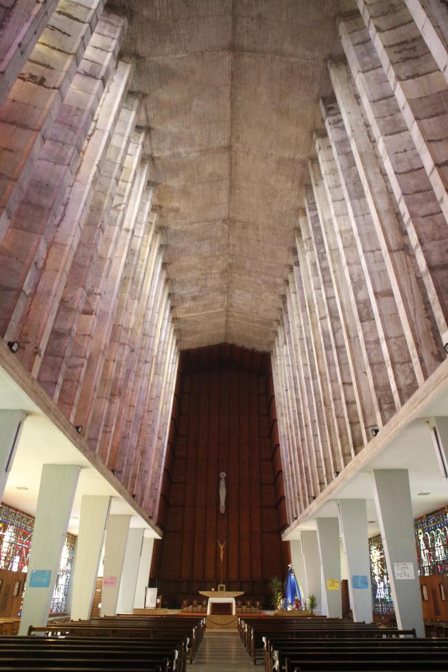 Касабланка. Церковь Нотр-Дам-де-Лурд. 1954–1956. Ашиль Дангльтер (Aсhille Dangleterre). Фото © Лев Масиель Санчес