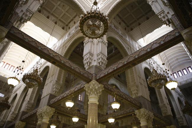 Константина. Мечеть Абделькадера.  1970–1994. Мустафа Мансур (Moustapha Mansour). Фото © Лев Масиель Санчес