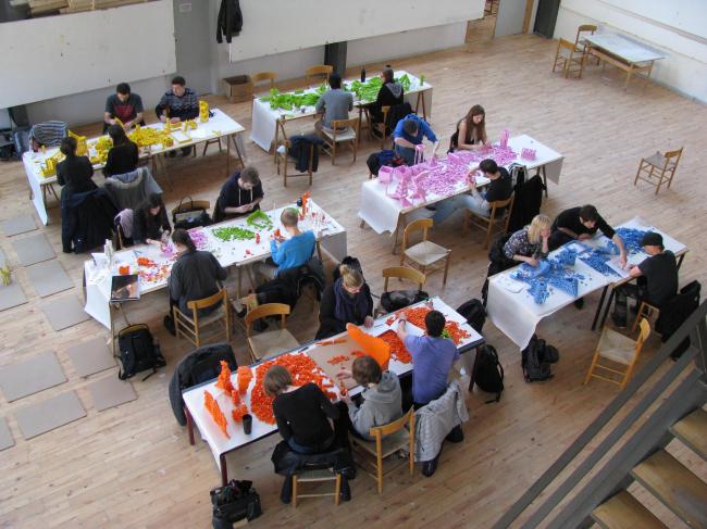 Работа над Lego – моделями в Архитектурной школе Орхуса