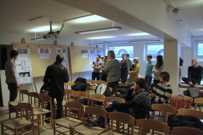 Учебный семинар в Архитектурной школе Орхуса