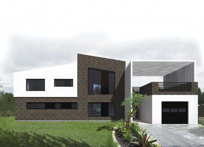 Архитектурная студия CLIC. Загородный жилой дом в Кончинино