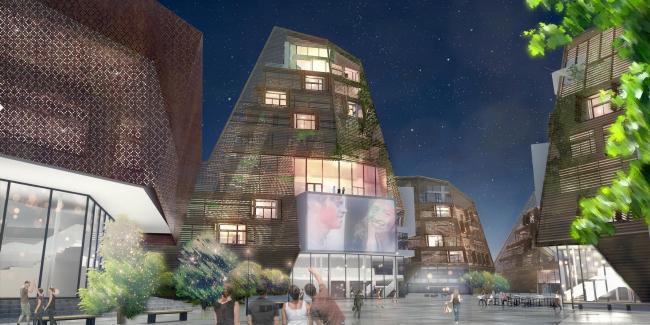 Архитектурная студия CLIC совместно с Brink Brandenburg Arkitektur. Конкурсный проект для Звенигорода