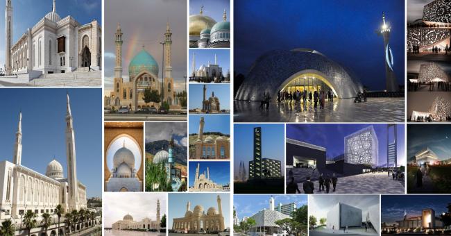 Реконструкция здания под мусульманский религиозный центр «14 Святых». Аналоги, поиск образа © Mamedov + Partners