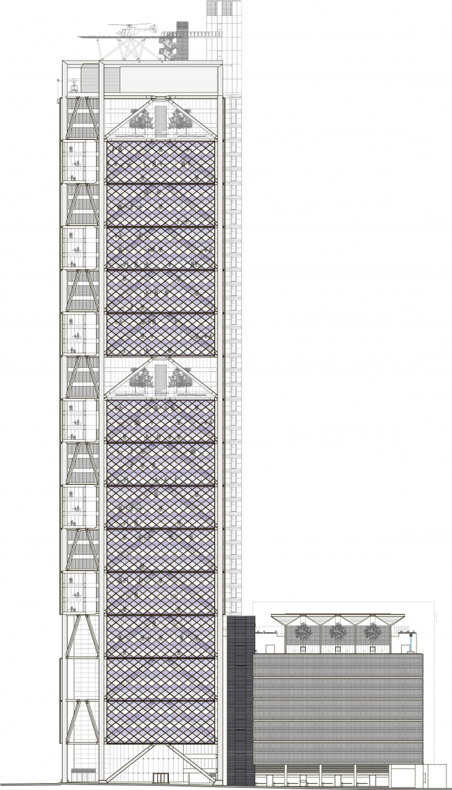 Штаб-квартира BBVA Bancomer © LegoRogers