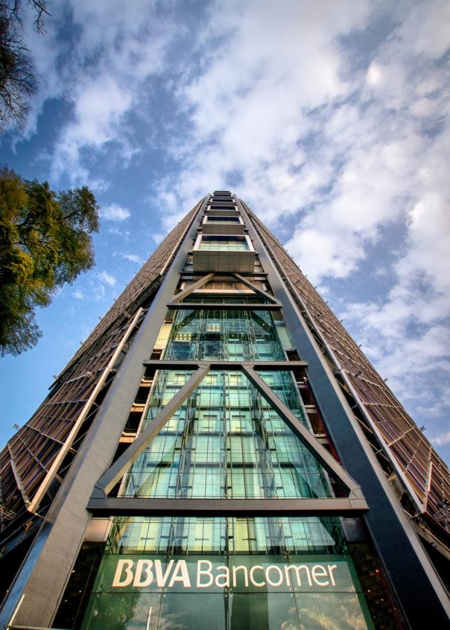 Штаб-квартира BBVA Bancomer © Dolores Robles Martinez Gomez / LegoRogers
