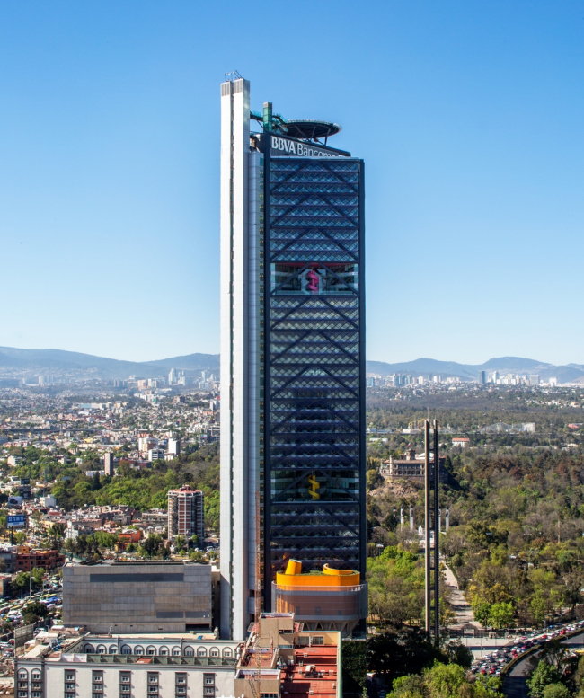 Штаб-квартира BBVA Bancomer © Lourdes Legorreta / LegoRogers