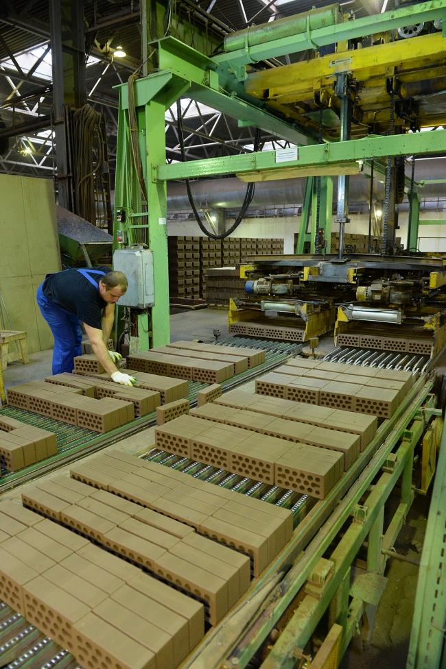 Производство кирпича «Керма» в Нижнем Новгороде. Фотография: ОАО «Керма»