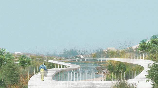 Проект воркшопа «Весенний МАРШ в Казани». Богатые Сабы: Утренний влажный воздух. Предоставлено МАРШ Лаб