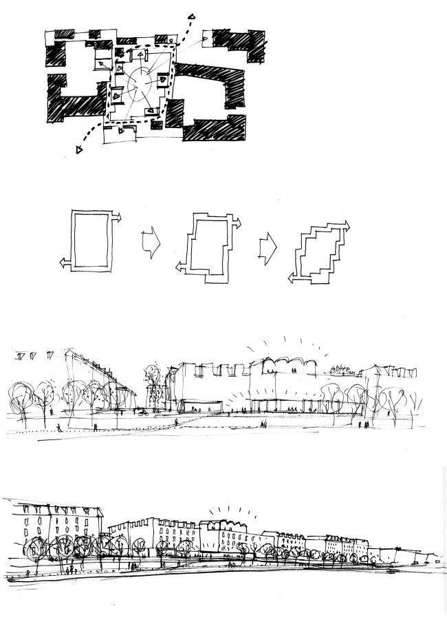 Future Sølund – жилой комплекс для пожилых людей и молодежи. Изображение: C.F. Møller Architects и Tredje Natur