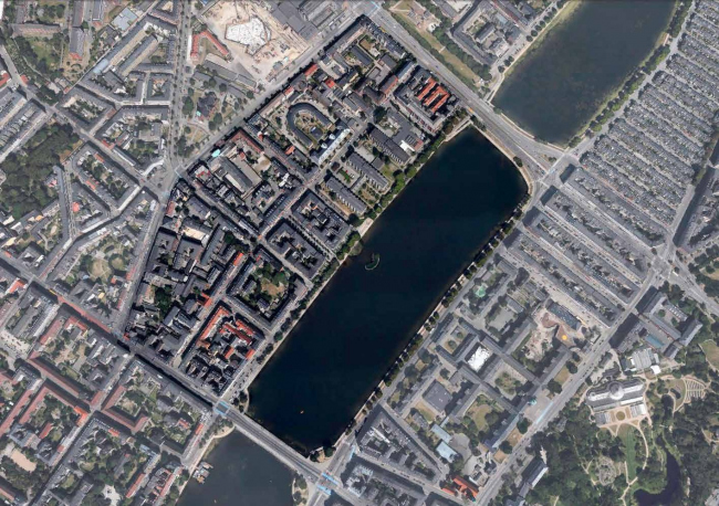 Future Sølund. Существующая ситуация. Изображение: C.F. Møller Architects и Tredje Natur с сайта www.detnyesoelun.dk