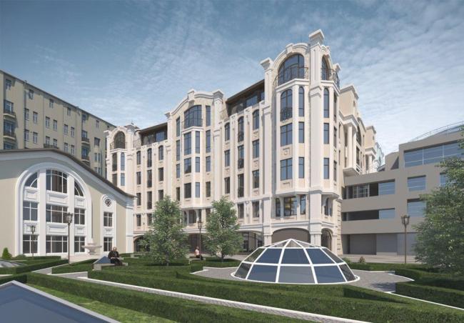 Гостиничный комплекс с апартаментами на Остоженке