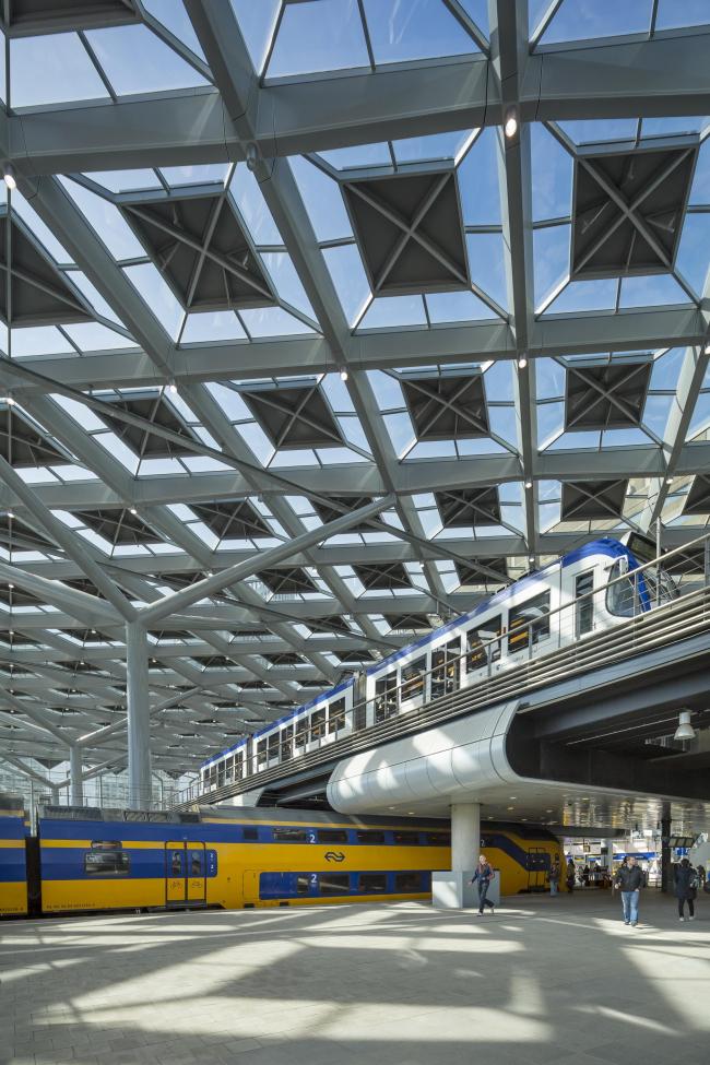 Центральный вокзал Гааги © Jannes Linders