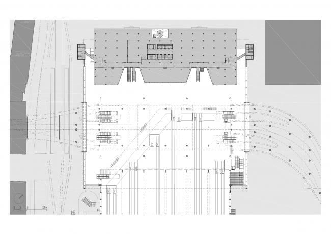 Центральный вокзал Гааги © Benthem Crouwel Architects