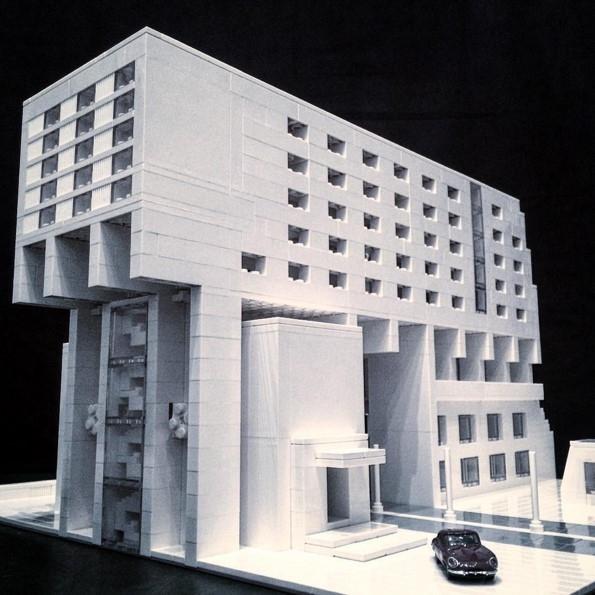 Копия жилого комплекса Pallasseum в Берлине, 1977. Архитектор Юрген Заваде © Arndt Schlaudraff