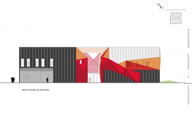 Культурный центр Ле-Аг © Périphériques / Marin+Trottin Architectes