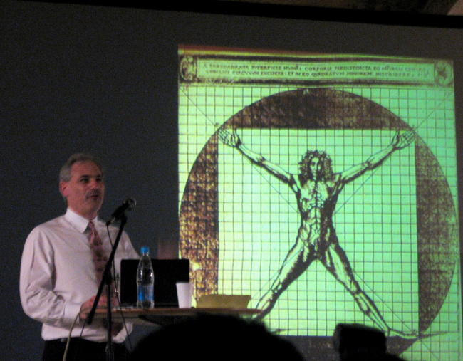 Витрувианский человек - символ мужского начала в архитектуре