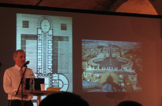 А. Бецки о мужском начале в архитектуре Рима
