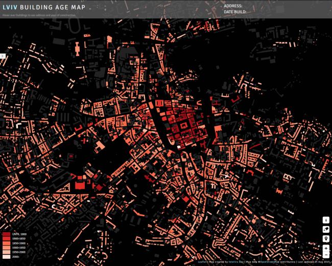 Карта Львова © Intetics