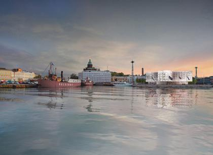 Гостиница Helsinki Waterfront Hotel © Herzog & de Meuron