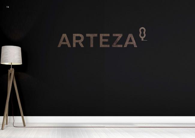 Фирменный стиль ландшафтной компании Arteza © Wowhouse