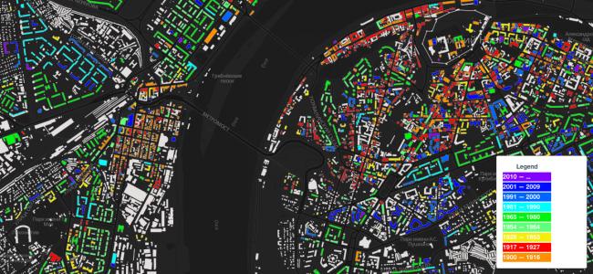 Карта Нижнего Новгорода © Дмитрий Волков