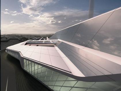 Центр исследования энергии E.ON Рейнско-Вестфальского технического университета Ахена    © Zaha Hadid Architects