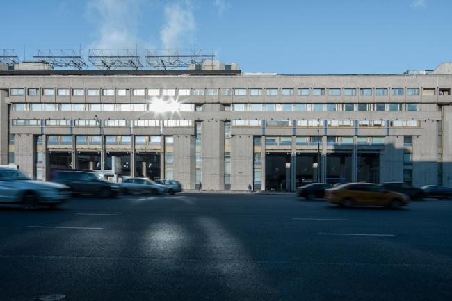 Главный пресс-центр Олимпиады на Зубовском бульваре © Денис Есаков